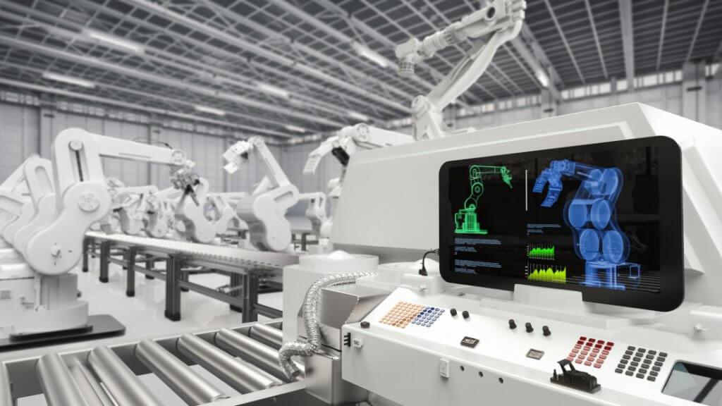 digital factory fließband automation