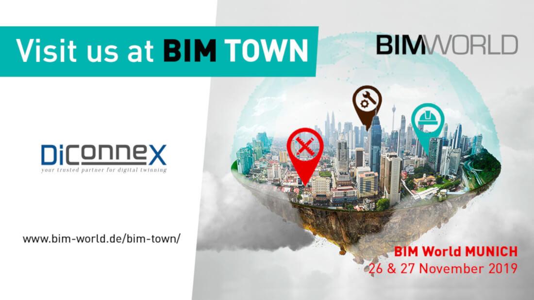 bim town auf der bim world diconnex