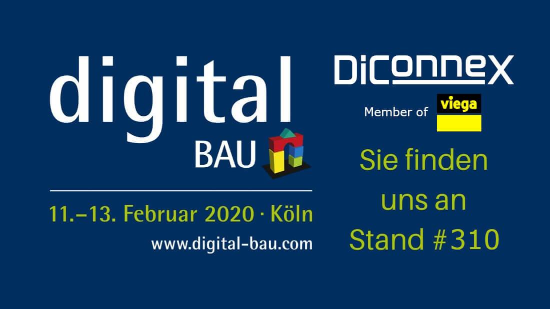 digital bau februrar 2020 köln diconnex stand 310
