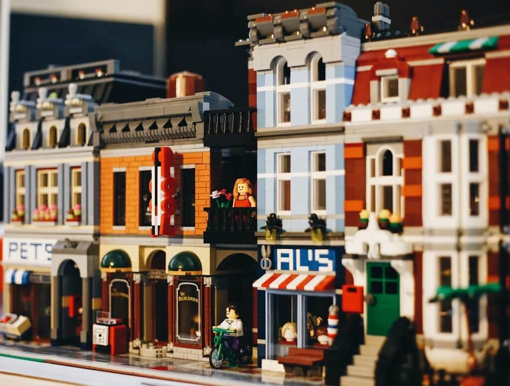 LEGO Gebäude BIM